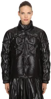 MONCLER GENIUS 6 Moncler Noir Rubellite Down Jacket