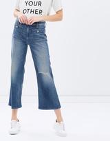 Mother Patch Pocket Maverick Jeans