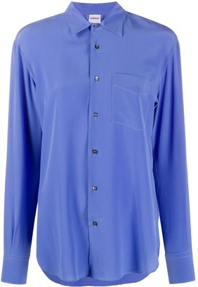 Aspesi Silk Long Sleeve Shirt