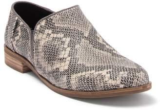 Toms Shaye Snakeskin Embossed Leather Loafer