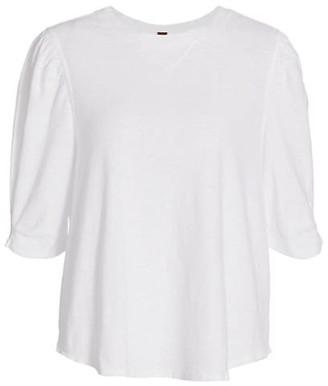 Free People Puff Sleeve T-Shirt