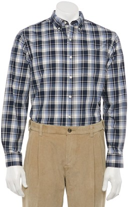 Croft & Barrow Men's Easy-Care Button-Down Shirt in Classic and Slim Fit