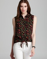 Vince Camuto Two by Rose Sleeveless Blouse