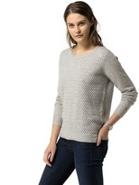 Tommy Hilfiger Cotton Cashmere Textured Sweater