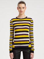 Jason Wu Striped Silk Sweater