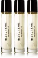 Helmut Lang Eau De Parfum - Lavender, Rosemary & Artemisia, 3 X 10ml