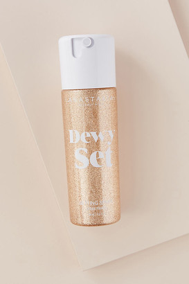 Anastasia Beverly Hills Dewy Set Setting Spray By in Gold