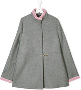 Fay Kids concealed breasted coat