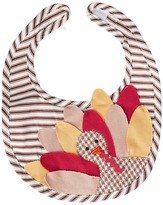 Mud Pie Turkey Ticking Bib