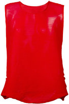 Issey Miyake sleeveless top - women - Polyester - One Size