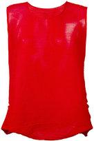 Issey Miyake sleeveless top