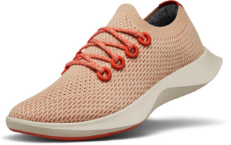 Allbirds Men's Tree Dashers - Flame (Light Red Sole)