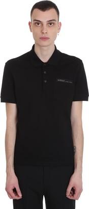 Givenchy Polo In Black Cotton