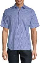 Tailorbyrd Men's Ericson Button-Front Shirt