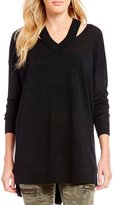 Gianni Bini Reese Cutout Sweater