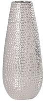 Torre & Tagus Short Helio Hammered Ceramic Bullet Vase
