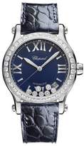 Chopard 36 mm Happy Sport Automatic Watch with Diamonds