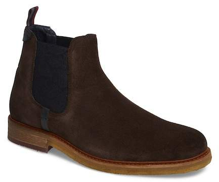 Ted Baker Bronzo Suede Chelsea Boot