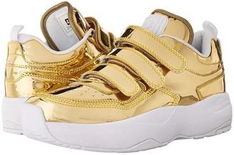 DC E.Tribeka Platform V LE (Gold) Women's Shoes
