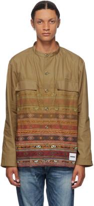 Neighborhood Khaki Mil Ve Long Sleeve Shirt