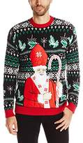 Blizzard Bay Men's Pope Santa Ugly Christmas Sweater