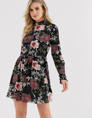 AX Paris floral print shift dress