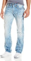 True Religion Men's Ricky Flap Pocket Relaxed Straight Super-T Jean