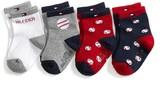Tommy Hilfiger Infant Baseball Socks 4pk