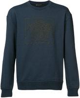 Versace Medusa print sweatshirt - men - Cotton - S