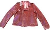 Ashish Pink Glitter Jacket for Women