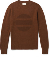 Oliver Spencer - Intarsia Wool-blend Sweater
