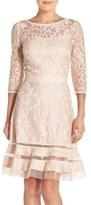 Tadashi Shoji Women's Lace Overlay Dress