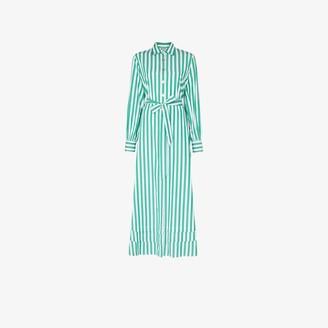 Evi Grintela Lily striped shirt dress