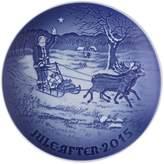 Royal Copenhagen Bing & Grondahl 2015 Annual Christmas Plate, 1902215, Santa's Presents