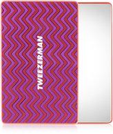 Tweezerman Mix n' Match Runway Print Collection Unbreakable Mirror Pink
