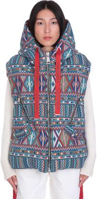 KHRISJOY Gobelin Puffer In Multicolor Polyester