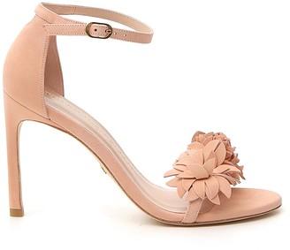 Stuart Weitzman Floral Sandals