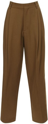 we11done Pleated Baggy Wool Pants