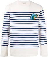 Moncler striped long sleeve top - men - Cotton - L