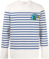 Moncler striped long sleeve top - men - Cotton - M