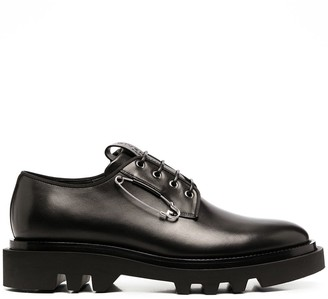 Givenchy bar-pin detail Derby shoes