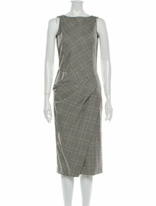 Narciso Rodriguez 2019 Midi Length Dress Grey