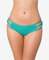 O'Neill Malibu Solids Macrame Cheeky Bikini Bottoms Women's Swimsuit