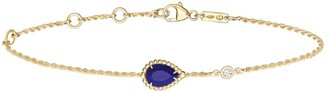 Boucheron Yellow Gold, Diamond and Lapis Lazuli Serpent Boheme Bracelet
