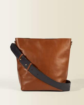 Jigsaw Karel Leather Hobo Bag