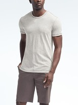 Banana Republic Soft-wash Contrast Stitch Crew