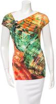 Roberto Cavalli Printed Sleeveless Top