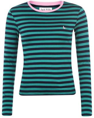 Jack Wills Lichford Long Sleeve Stripe T Shirt
