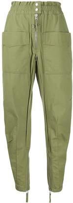 Etoile Isabel Marant elastic waist trousers