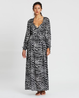Tigerlily Zoya Long Sleeve Dress